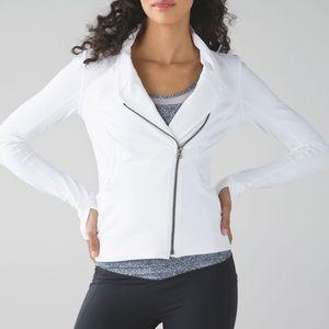 NWT Lululemon Precision Jacket - White